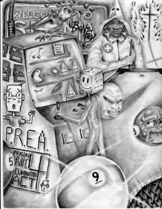 #MUDD THE #CONVICT #DRAWING #URBAN #STORYTELLER #BLACK #ARTIST #MOVEMENT #FL #DOC #TRUTH #SKILLS #BLACKANDWHITE #TAG A #CONVICT! 😄 MoliereExpressions.com